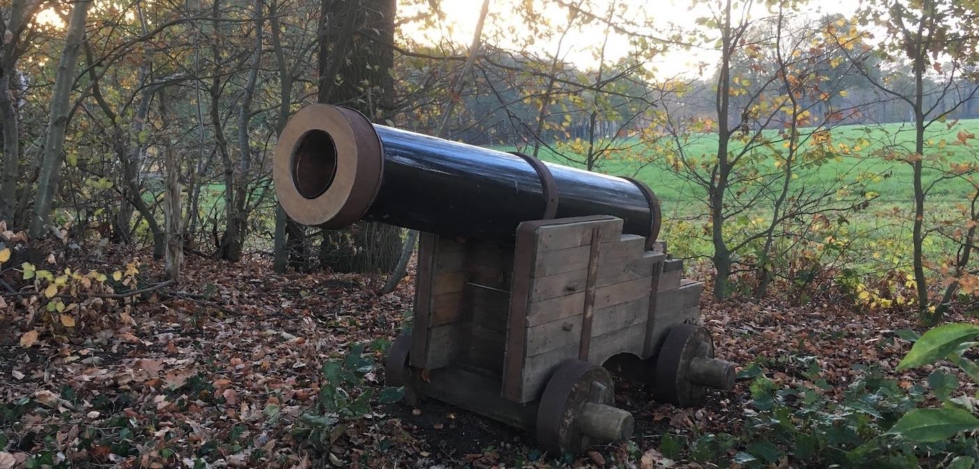 Een heus kanon in Haarlo!